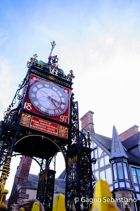 Chester Clock England Eastgate Photography First Eyeem Photo
