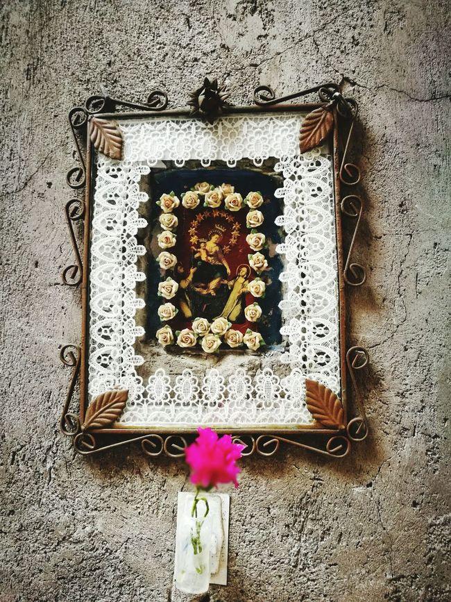 Napoli ❤ Napels Catolicism Catolica,Italie Capella Maria Faith Pink Flower 🌸