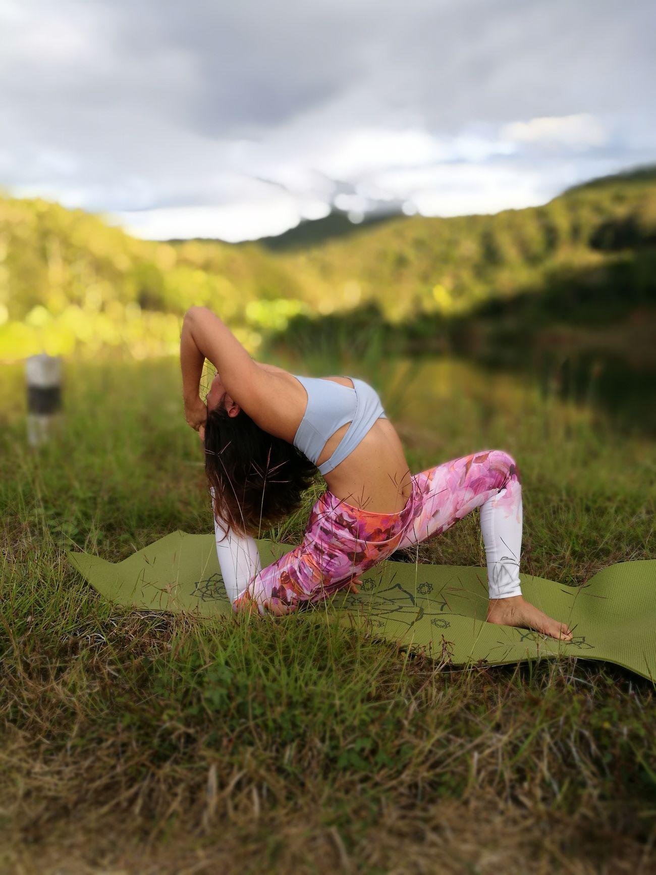 Yoga Yogainspiration Yogaeverywhere Yogaeveryday Yogapractice Yogagirl Yogatime Yogini Yogalove Yogaeverydamnday Yoga Pose Leisure Activity Nature Chiang Rai, Thailand Chiang Rai