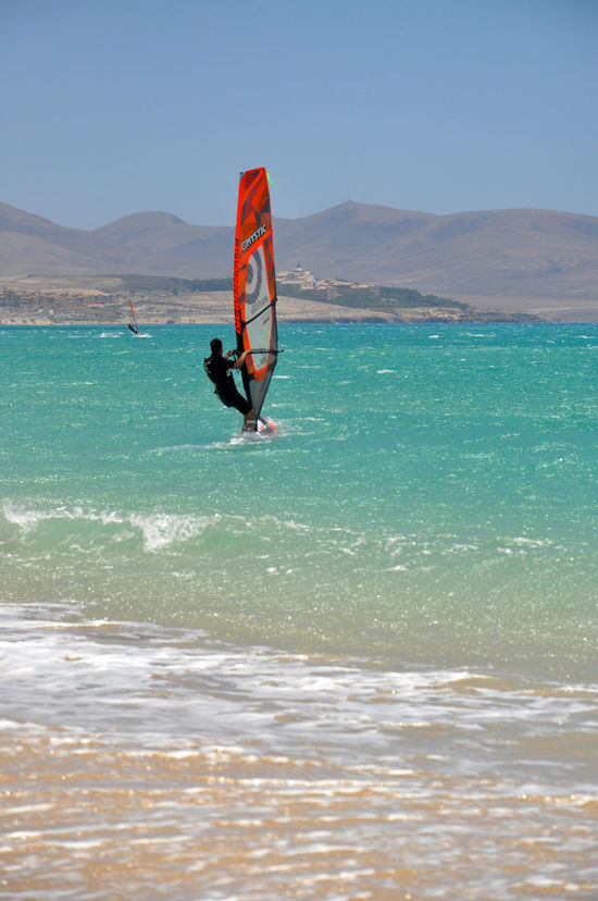windsurfing on fuerteventur island Action Atlantic Atlantic Ocean Bright Canarias Canary Canary Islands Color Color Of Sport Fuerteventura Lifestyle Lifestyles Ocean Sport Sports Sports Photography Turquoise Turquoise Water Watersport Watersports Windsurf Windsurfing