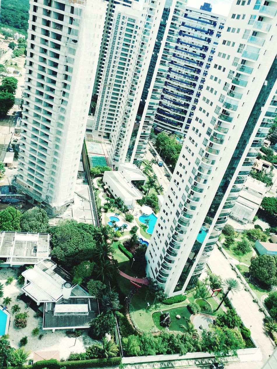 City Built Structure Architecture Building Exterior Day Skyscraper High Angle View Outdoors No People Cityscape Modern