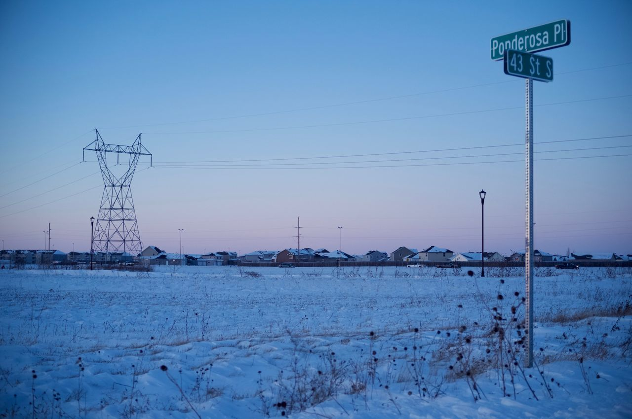 December 14, 2016 / South Fargo, North Dakota Beauty In Nature Cold Temperature Day Fall Fargo Landscape MidWest Nature No People North Dakota Outdoors Outdoors Photograpghy  Sky Snow South Fargo Tranquility Winter