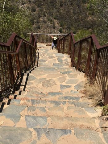 From My Point Of View Morialta Falls Adventures Hiking Friend Takingphotos Adelaide, South Australia Hiking Trail Stone Steps Looking Down!