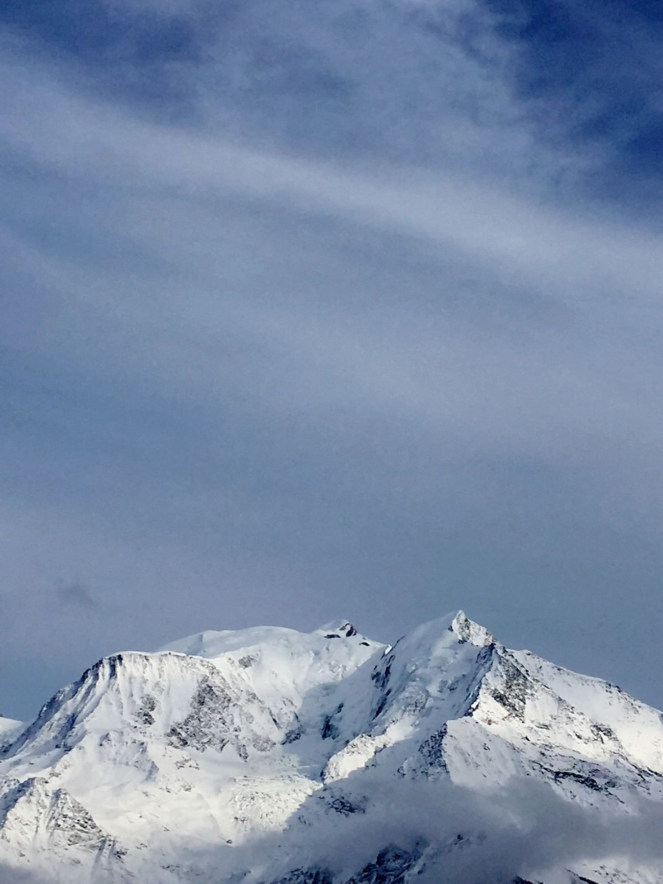 Mont Blanc ... 4810 m ... Beau Montblanc Skiing Mountains Mountain View Bettex Saint Gervais
