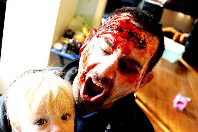 Zombie Zombieapocalypse Fake Makeup Horror Happy Halloween!