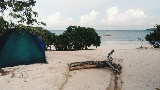 Beach Beach Camping Calaguas Outdoors Philippines Sand Summer Water Camp