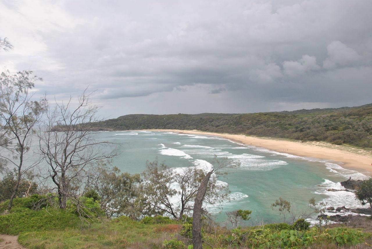 Australia Beauty In Nature Cloud - Sky Cloudy Nature Noosa Noosa Heads Outdoors Sky Water First Eyeem Photo