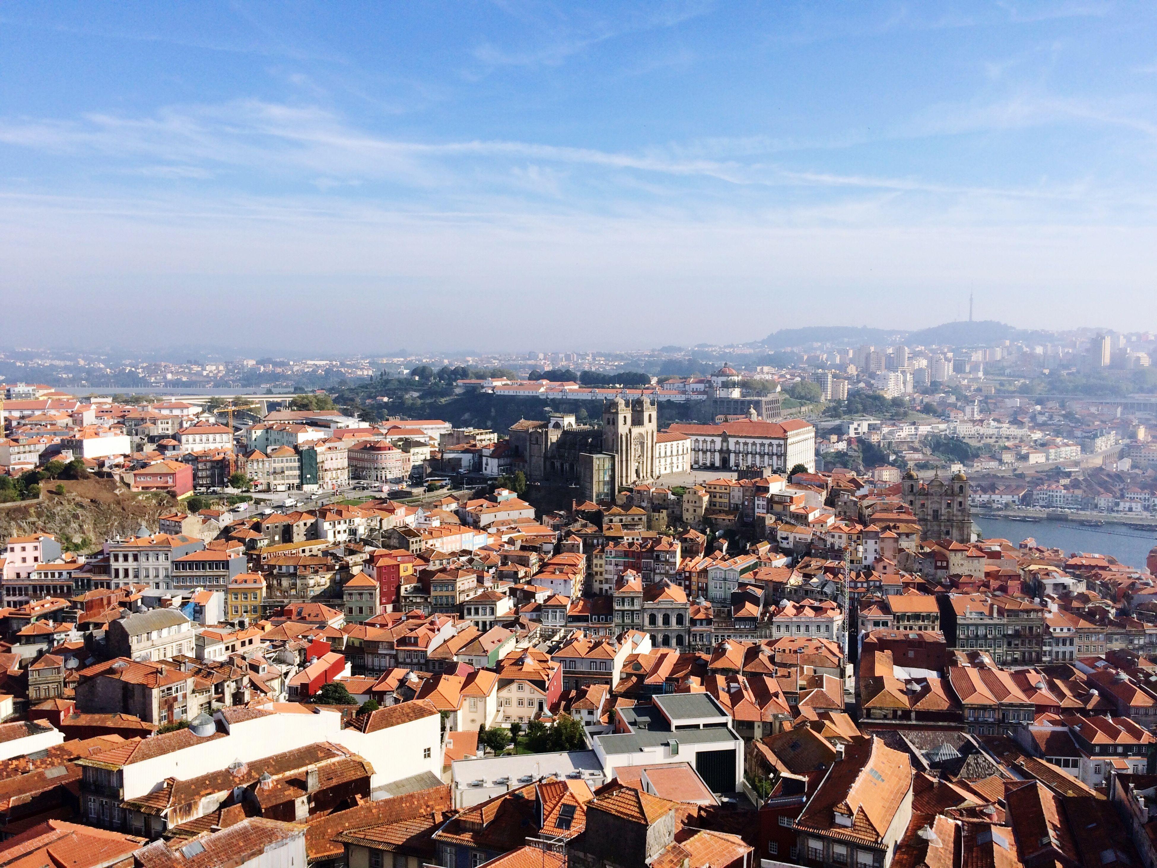 Beautiful City Meu Lindo Porto Clerigos Tower City View