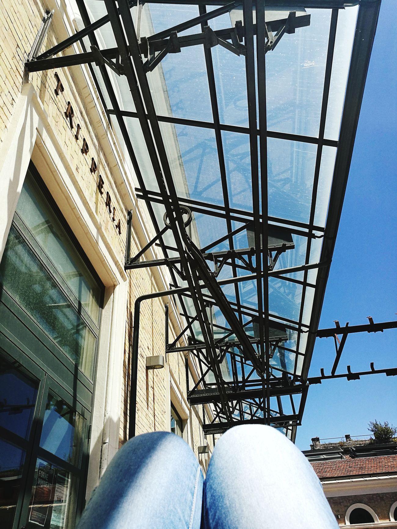 Architecture Sky Outdoors Nature Relax Relaxing Time Riposino Postpranzo  Università  University Romatre Architorture Mattatoio Studio Pausa Noncelapossofare Sole Sun Caldo Sistabene
