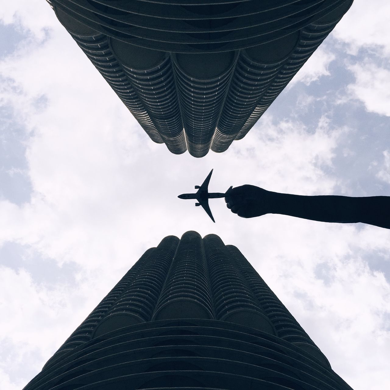 Beautiful stock photos of chicago, Air Vehicle, Airplane, Architecture, Building