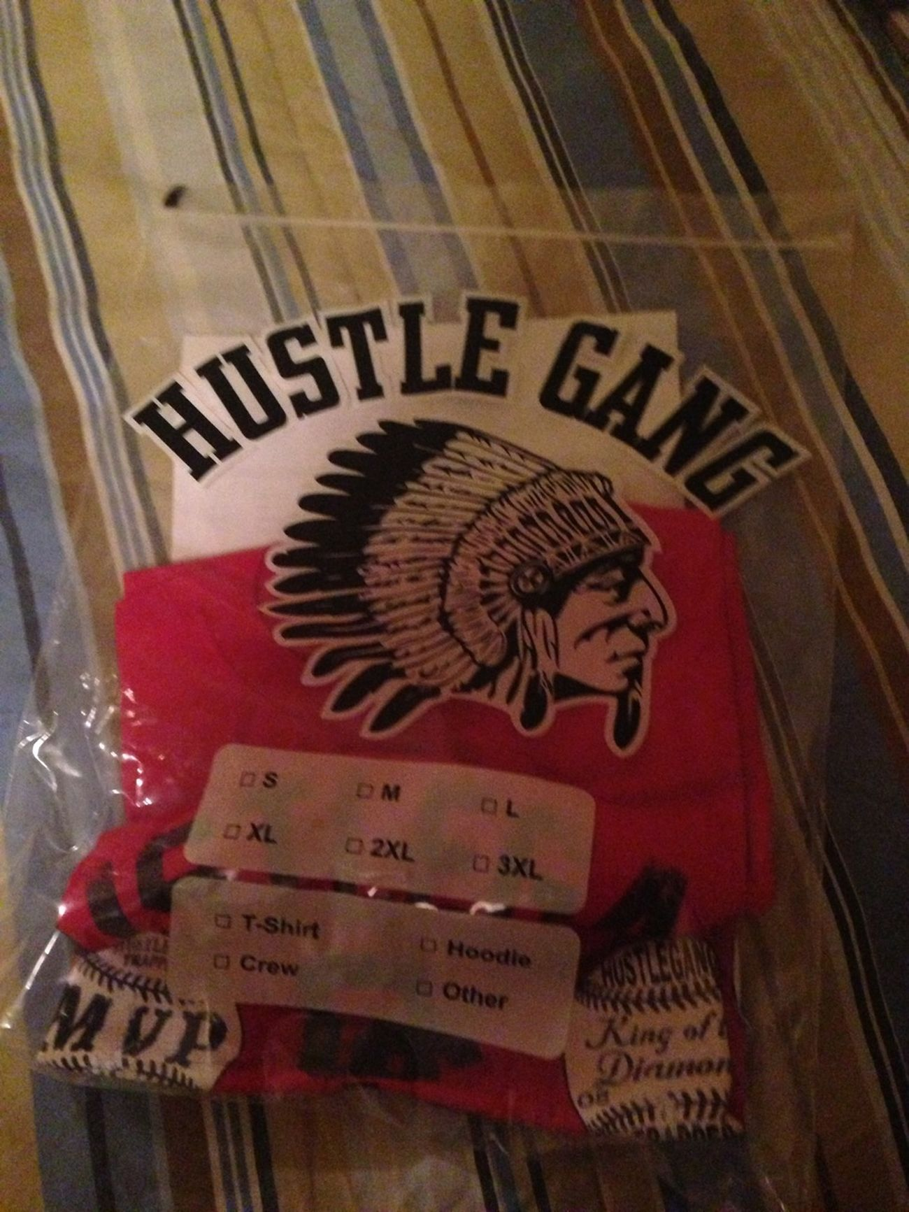 What came in the mail yesterday #HUSTLEGANG #GDOD