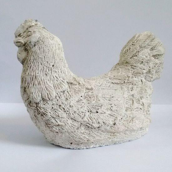 Statue Chicken Kip Standbeeld