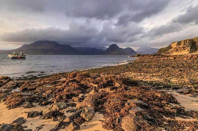 Elgol, Isle of Skye Water_collection Sea_collection Seeing The Sights EyeEm Best Shots EyeEm Nature Lover Eye4photography  Landscape_Collection Sea And Sky Sky_collection Eyem Gallery