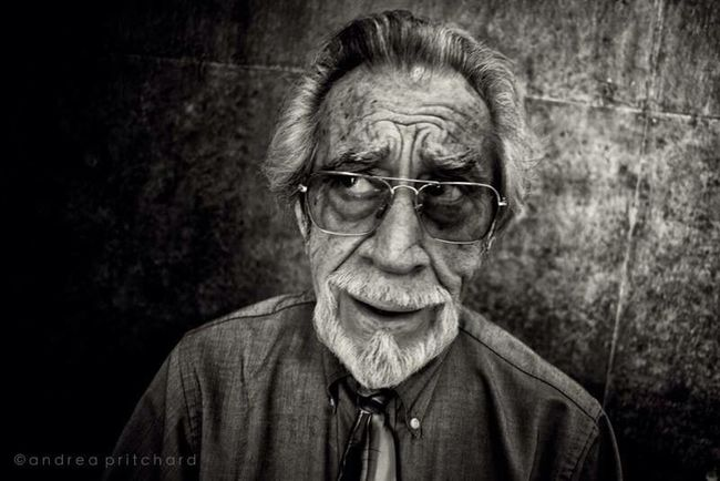 We'll meet Bob.... RePicture Ageing The Human Condition B&W Portrait