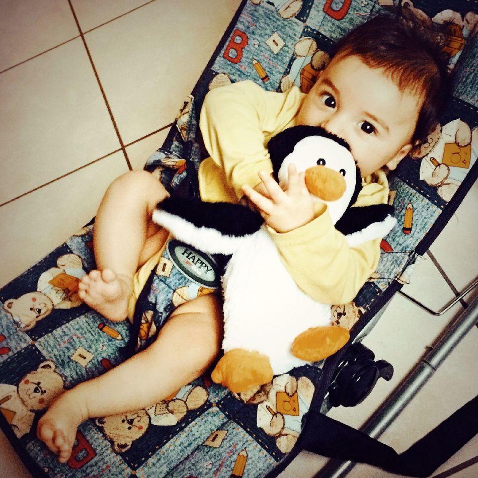 Interspecies Friendship Inter Species Love Penguin Baby Family Love