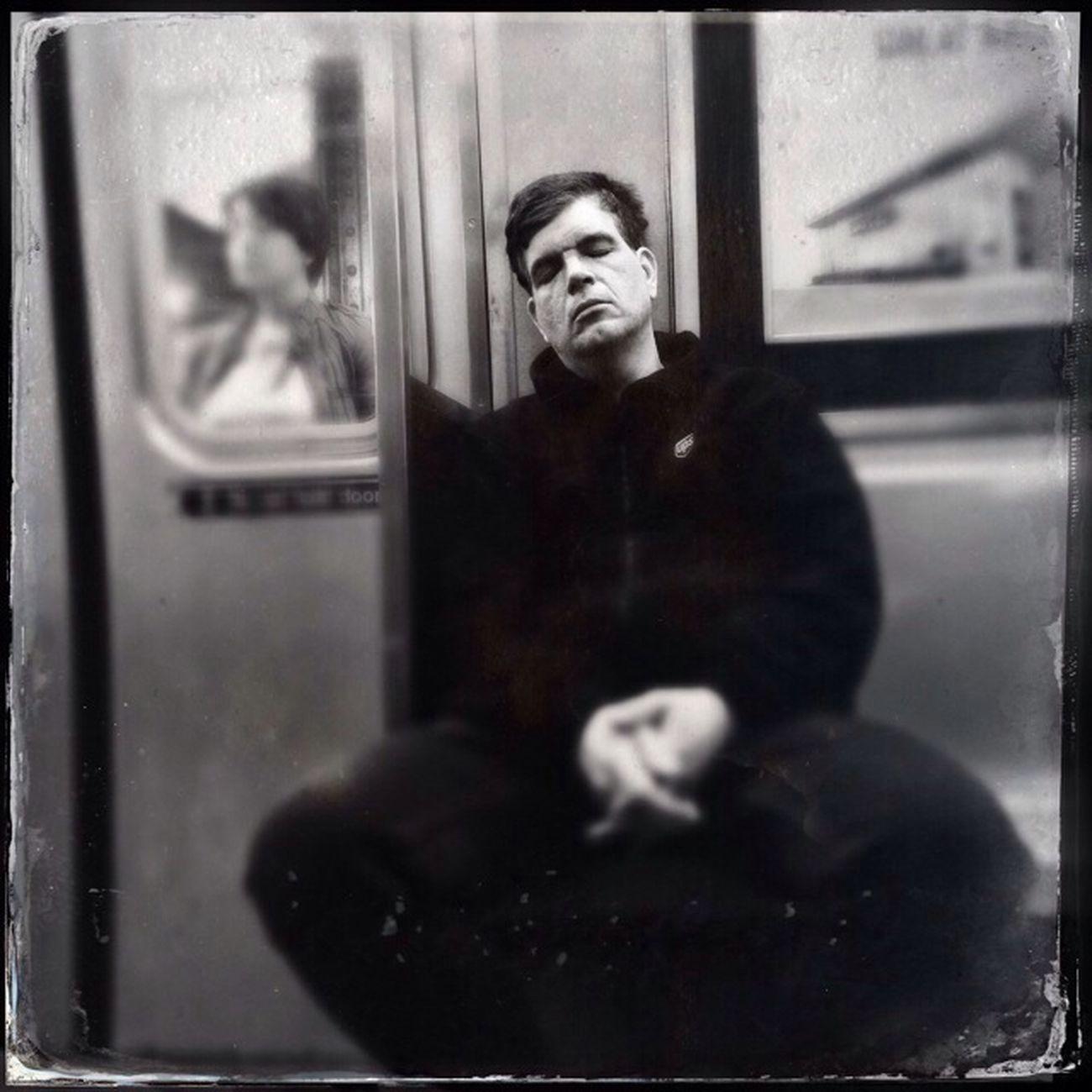 Zzzzzzzzz Subway Blackandwhite Streetphoto_bw