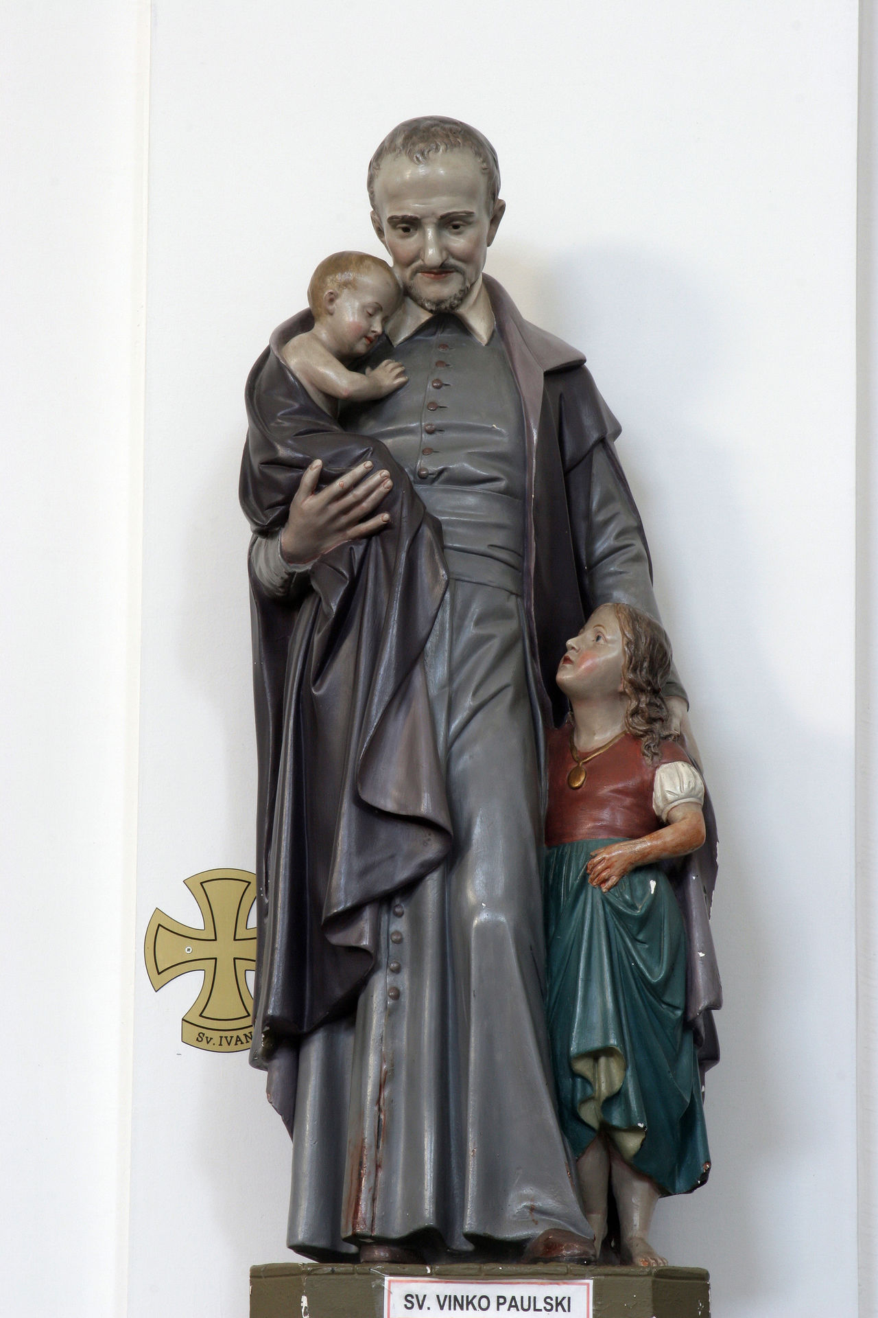 Saint Vincent de Paul Abbey Altar Art Art And Craft Belief Christianity Church Convent Croatia Faith Historic Holy Old Patron Prayer Religion Sacred Saint Sculpture Spiritual Statue Vincent De Paul Worship