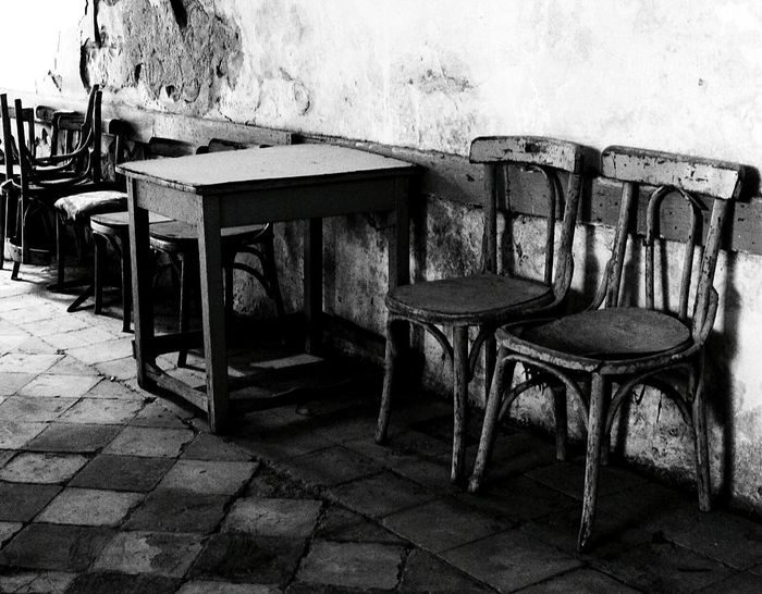 Old Coffee Time Coffee Break Nablus City City Life Wood - Material Table Nature Outdoors Day No People Chair Empty Smile Coffee Drink Relaxing Enjoying Life Hello World Hi! Palestine