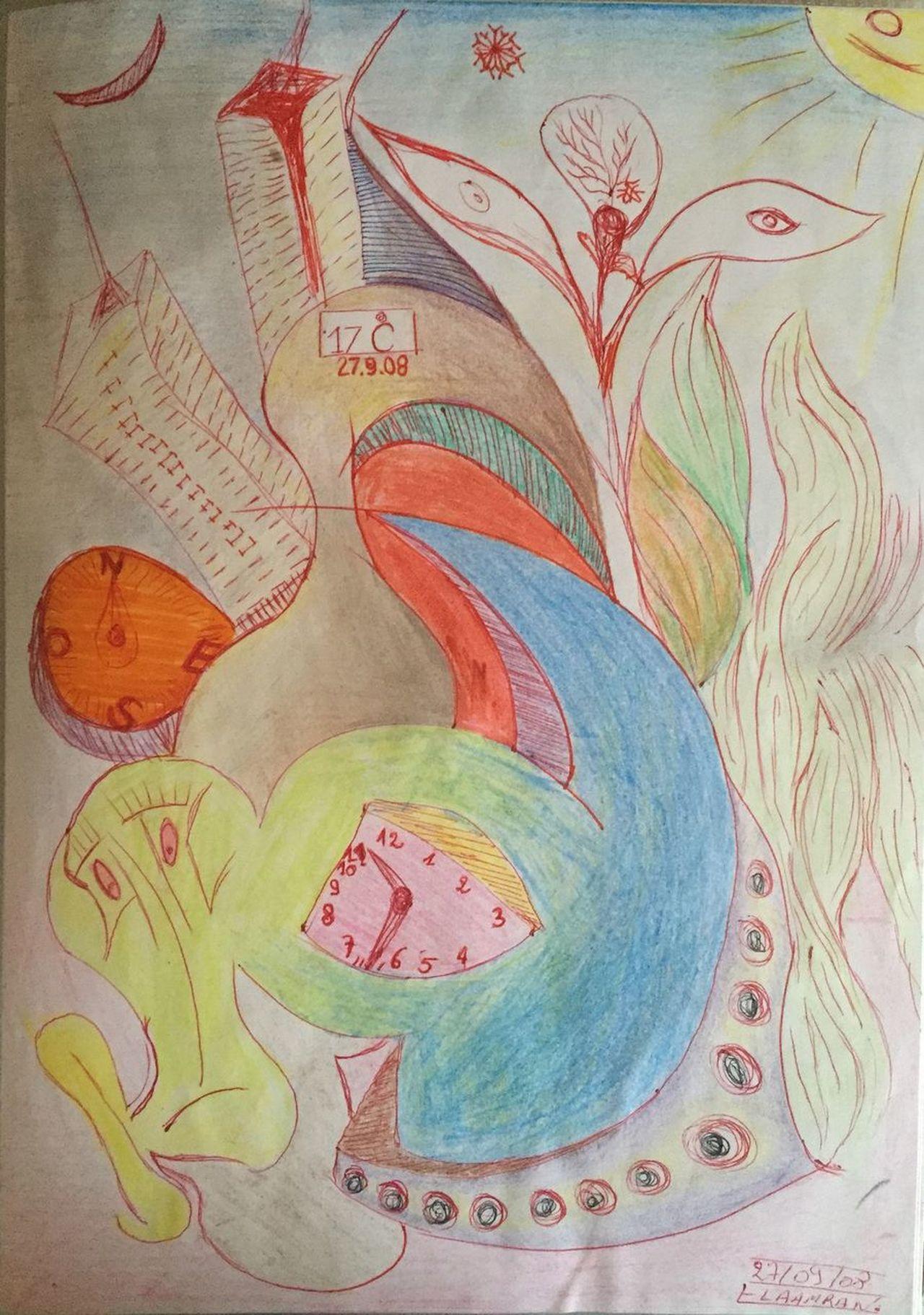 Art, Drawing, Creativity Designing Dessin M.EL AAMRANI Imassine