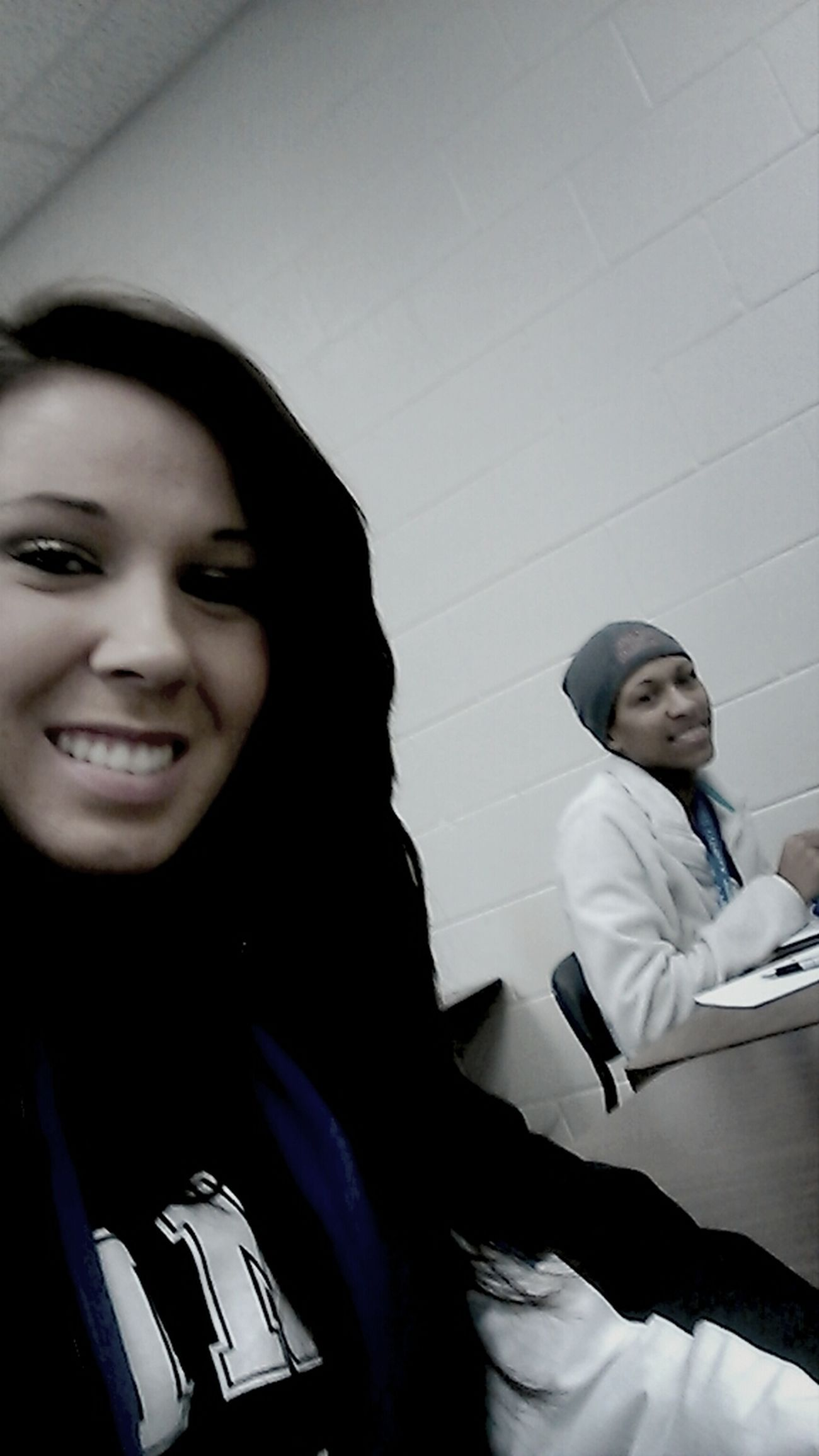 study hall with my girl rere
