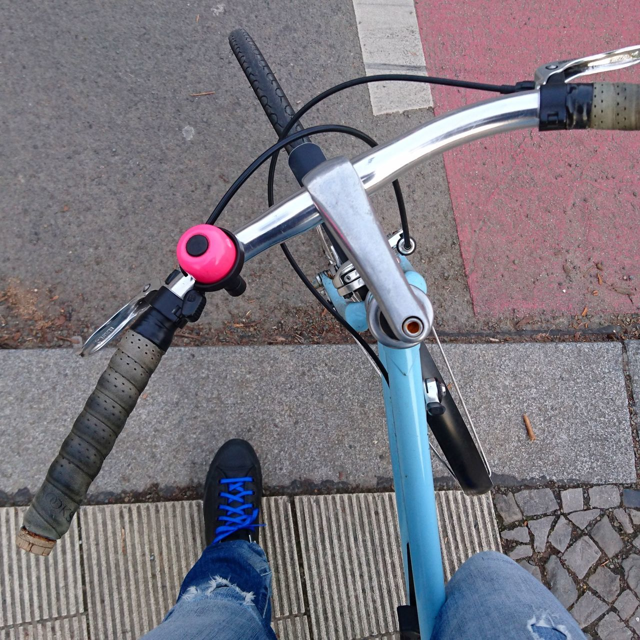 Back on the road again. Outdoors Perspective Bike Biking From My Perspective Frommypointofview From My Polnt Of View