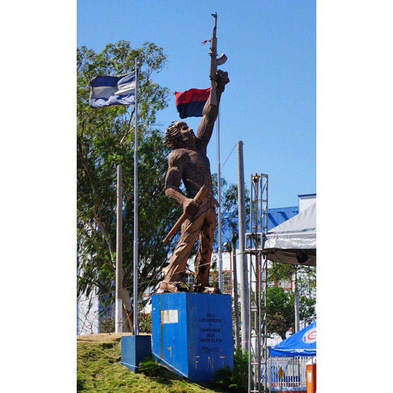 80년 5월이 떠올랐다. Nicaragua Managua