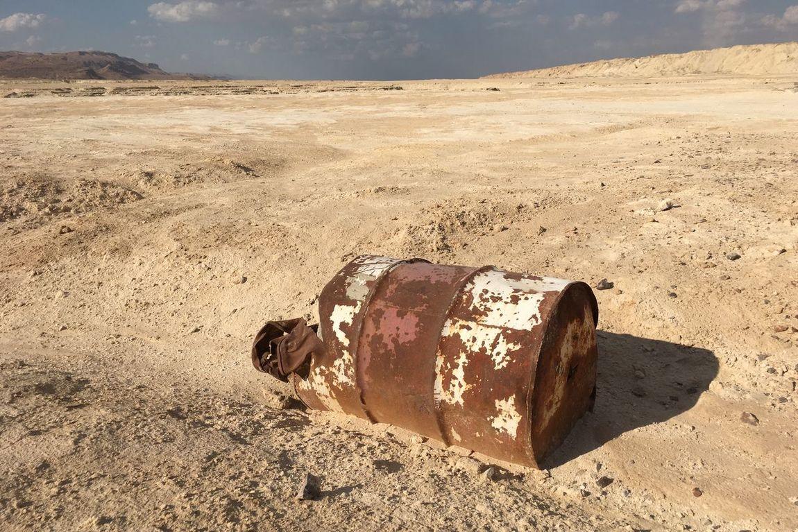 Desert Abandoned Bidon Bidone Desert Deserto Dune Iphone6s IPhoneography Iphoneonly Remote Sand Solitude Resist Israel