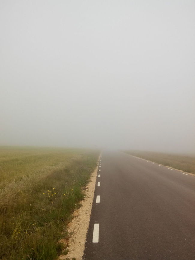 2014 El Camino De Santiago Fog Foggy Jakobsweg Journey Nebel Nebelig Pilgern Pilgerschaft Pilgrimage Road Way Way Of Saint James Weg