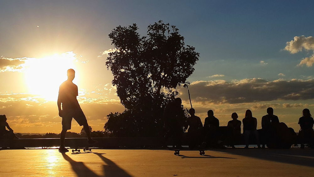 Travel Destinations Sunset Silhouettes Adults Only People Sunset Outdoors Capoeira Capoeira Time Capoeirabrasil Brasil Dancing