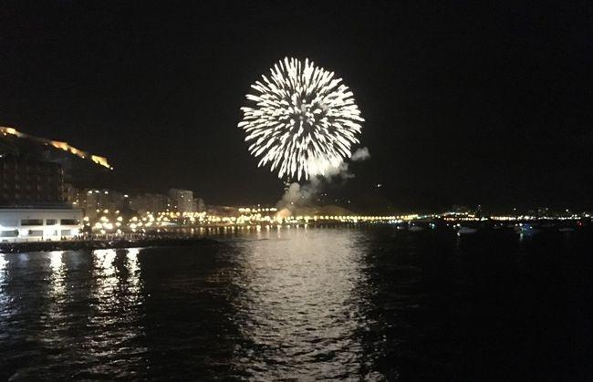 Fireworks Photography Alicante Beach Spain The Moment - 2016 Eyeem Awards Night Mediterranean 2016 Fotographie Night