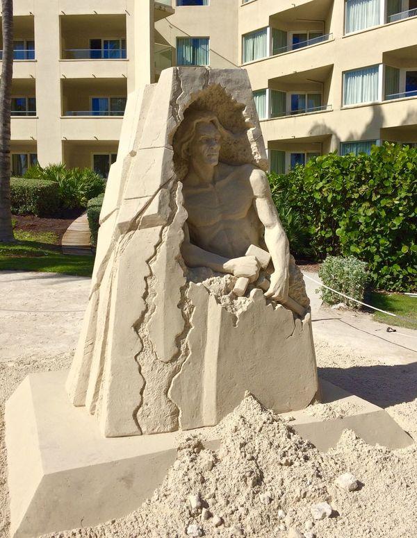 International Sand Art Competition Conchfused Florida Keywest Keywestflorida Publicart Sandart Sandsculpture