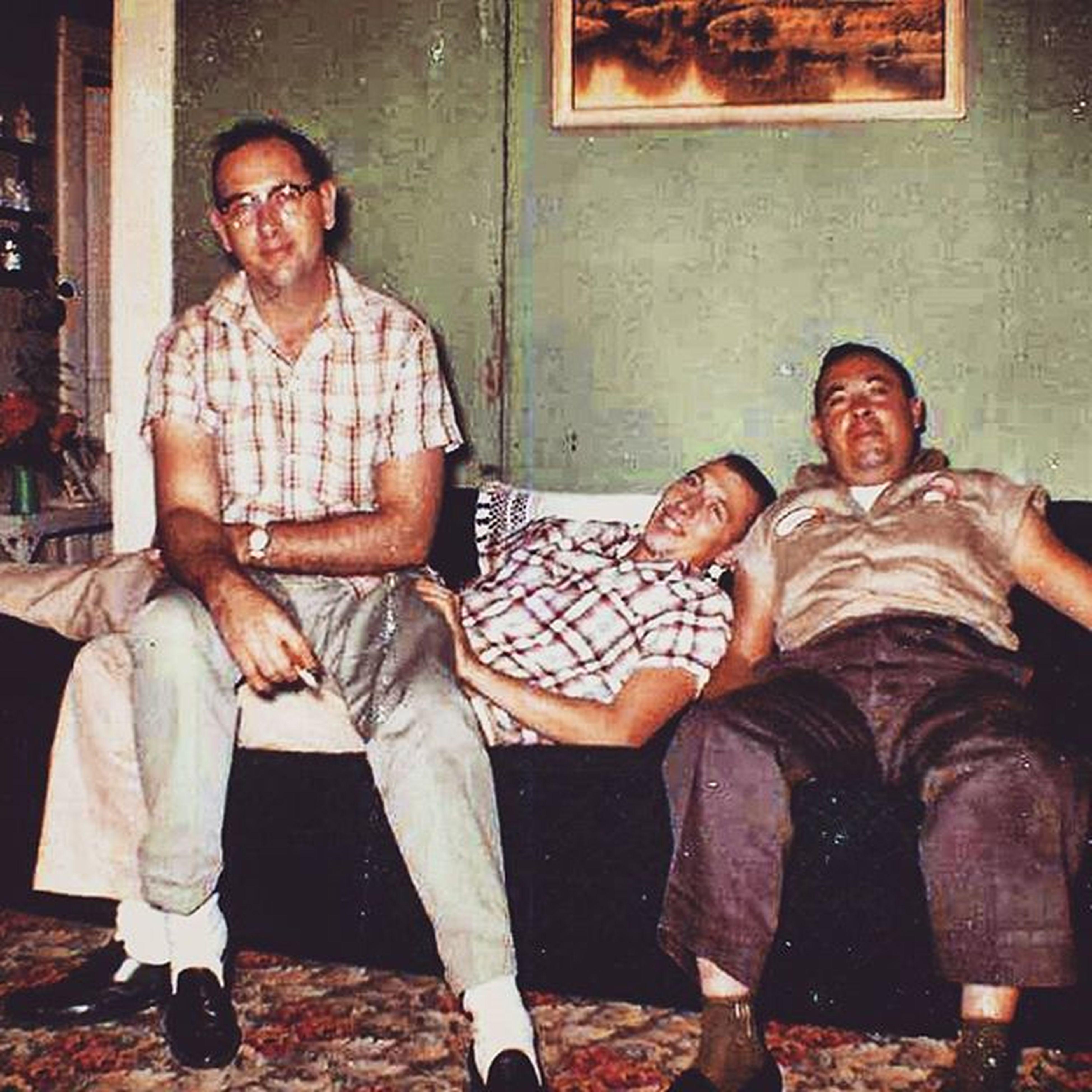 L to R: My Dad Ralph with my uncles Jon & Lee Miller circa 1961. Youhavetoknowwhereyourefromtoknowwhereyouregoing