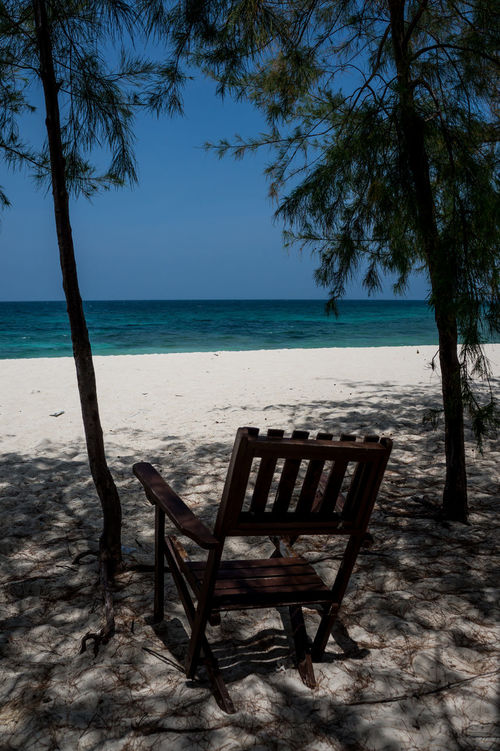 One day in Paradise, Mbudya Island (Tanzania) Africa Beach Chair Coastline Dar Es Salaam Horizon Over Water Island Mbudya Mbudyaisland Ocean Outdoors Paradise Photography Relaxation Sand Sea Shore Summer Tanzania Tranquil Scene Travel Photography Traveling Tropical Climate Vacation Vacations