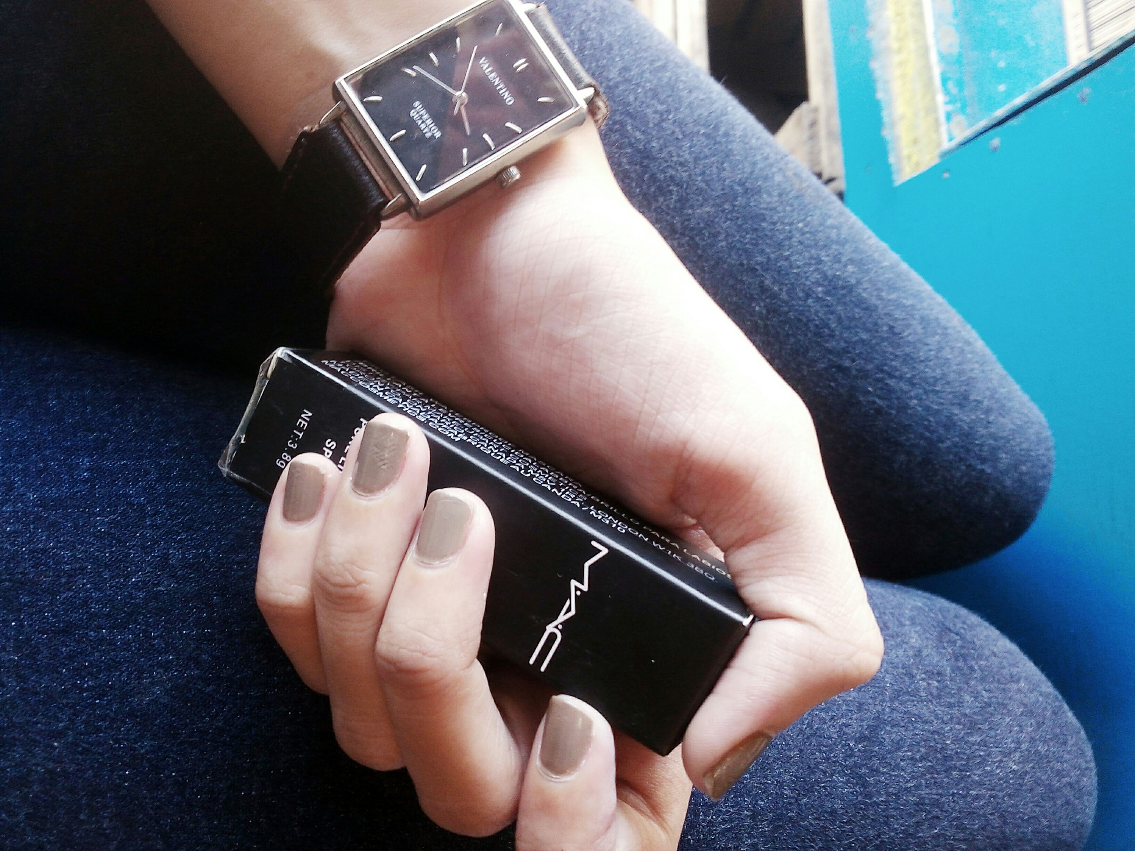 indoors, person, part of, close-up, lifestyles, human finger, holding, cropped, fashion, leisure activity, home interior, high angle view, femininity, ring, sensuality, sitting