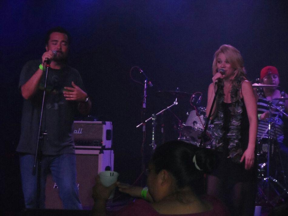 Killer reggae band.Husband and wife singing. Live Reggae Kush County Tempe, AZ