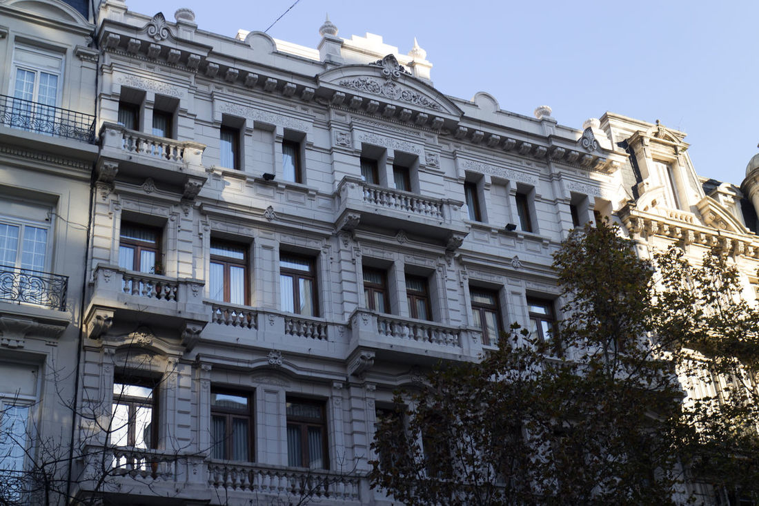 Avenida de Mayo Buildings - Buenos Aires, Argentina Architecture Avenida De Mayo Avenida De Mayo Buildings Buenos Aires Buenos Aires Architecture Buenos Aires Citytour Buenos Aires, Argentina  Building Exterior Built Structure Day Low Angle View No People Outdoors Sky