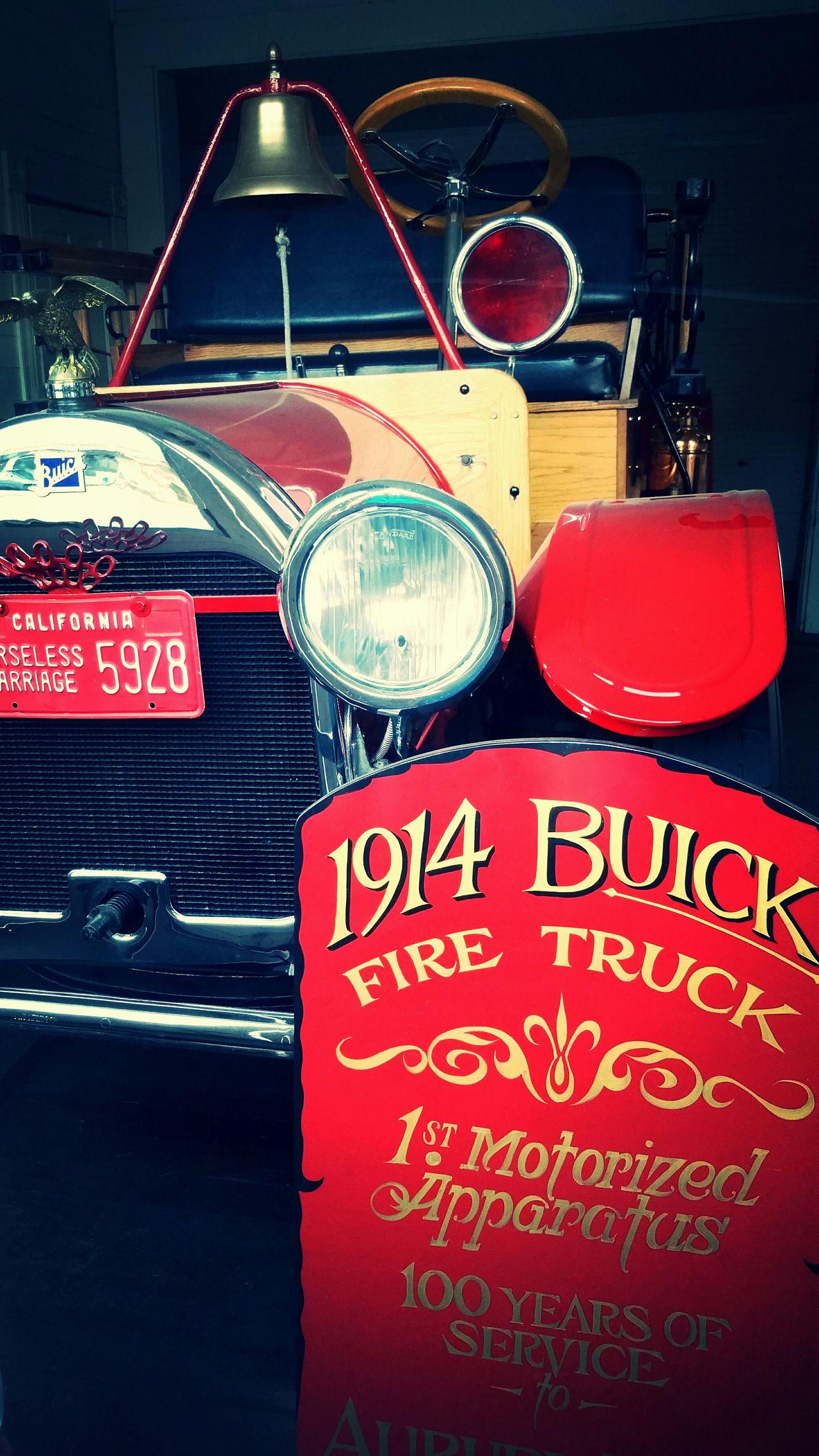 Horeseless Firetruck Vintage Firetruck Firetruck Firefighters