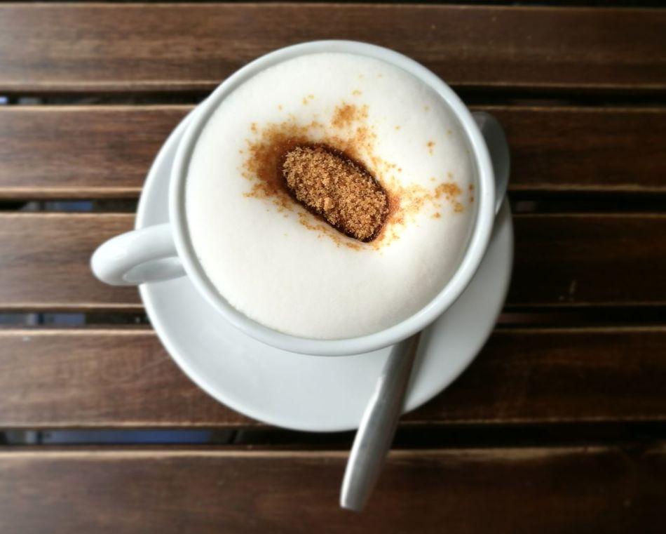 Quando il buongiorno si vede dal mattino... Coffee Cup Drink Coffee - Drink Food And Drink Cappuccino Brownsugar Zuccherodicanna Lattedisoia Soyamilk Brunch Brunchtime Close-up