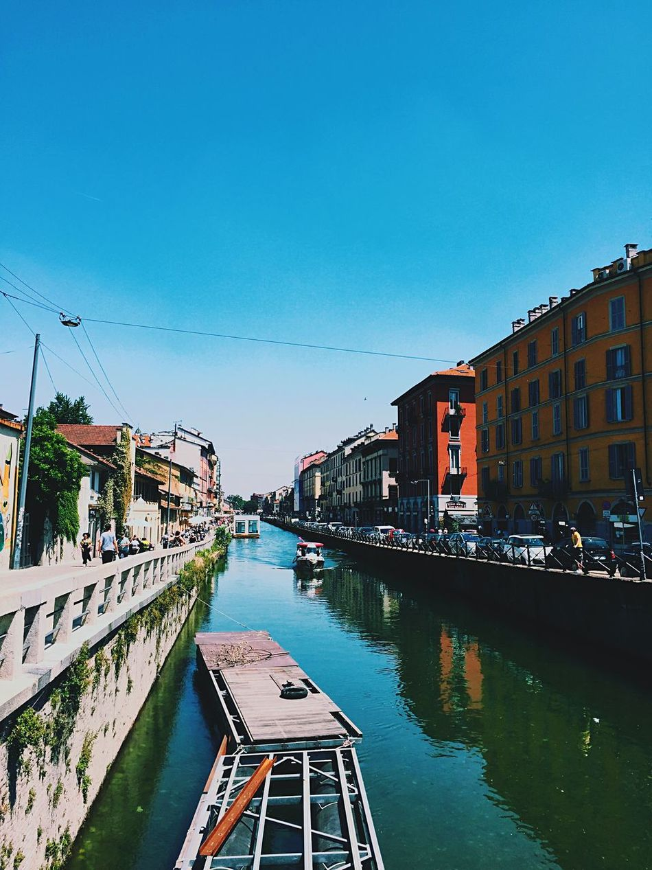 Beautiful stock photos of milan, Architecture, Beauty In Nature, Blue, Boat