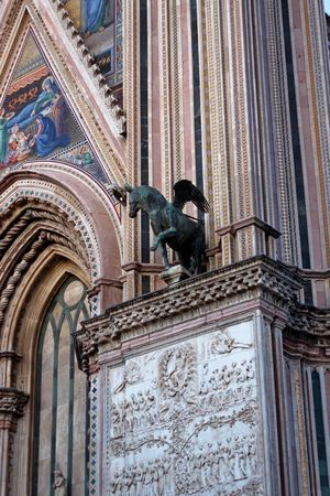 Orvieto, Italy Travel Travel Photography Traveling Architectural Column Architecture Art And Craft Building Exterior Built Structure City Day History Italian Italy Low Angle View Monument No People Orvieto Outdoors Sculpture Statue Tourism Travel Destinations