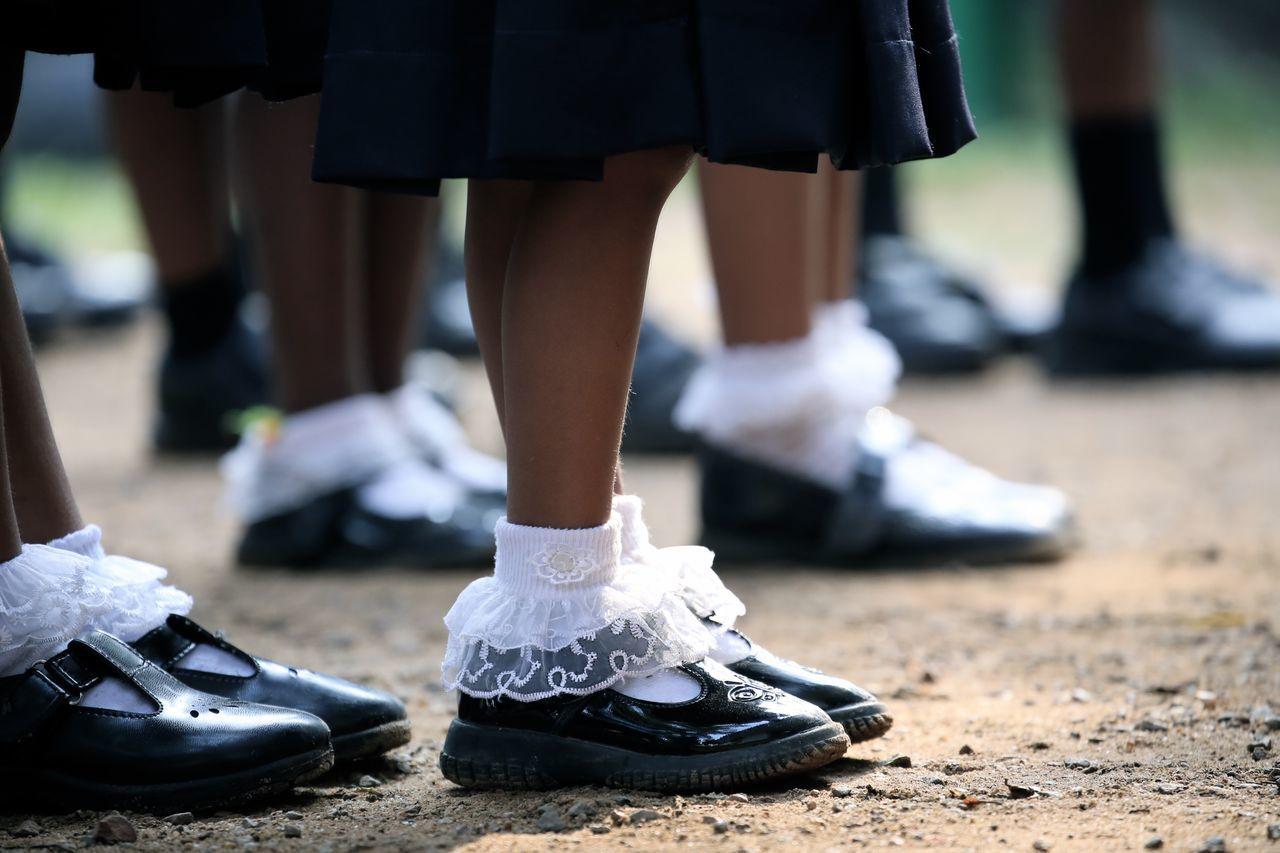 School Life  Uniform School Uniform Kids Children Going To School Kindergarten