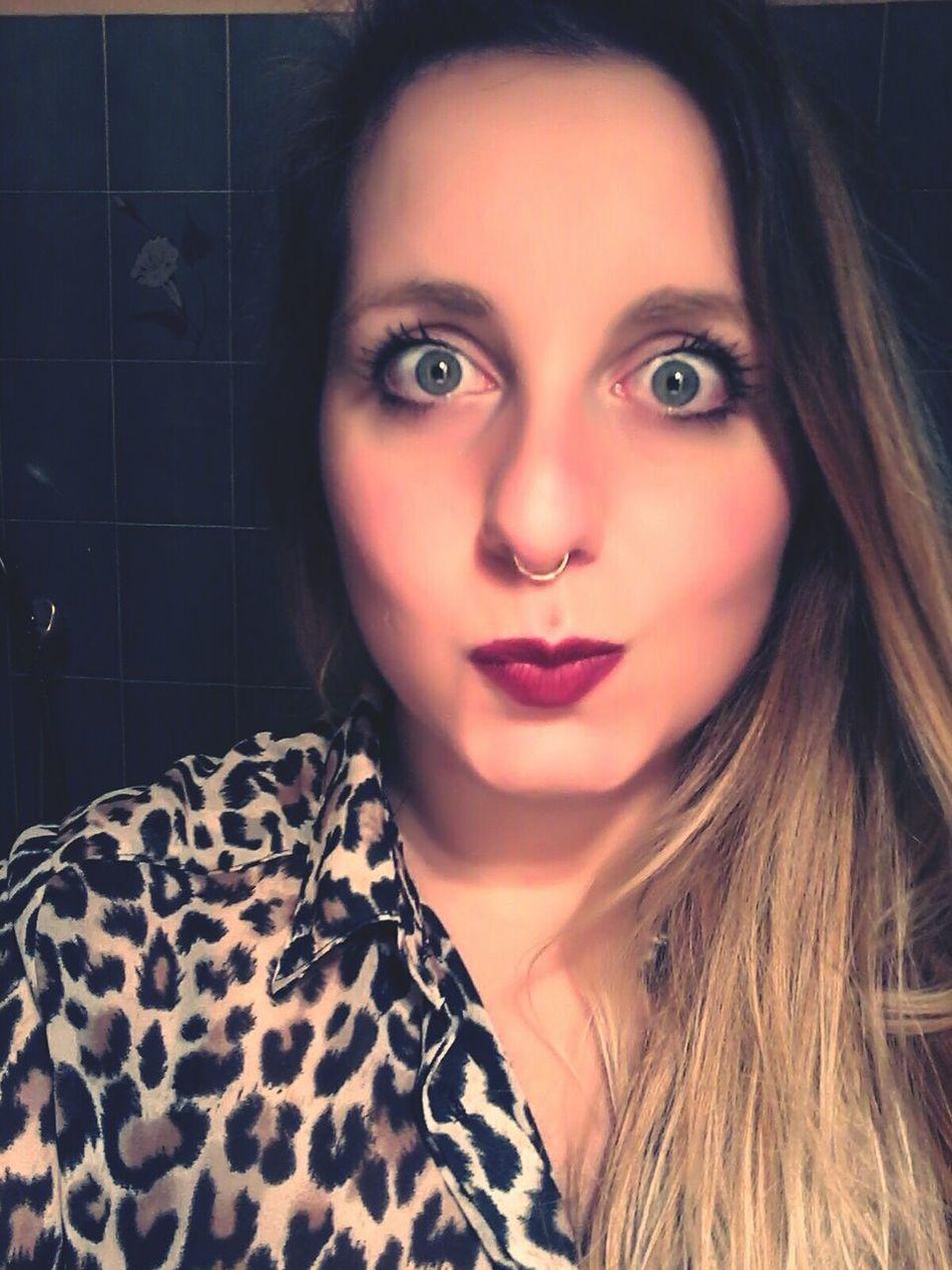 Brondehair Pircing Girlswithpiercings Selfie ✌ Eyes Green Eyes Girls Blondie Me Myself And I Blonde Girl