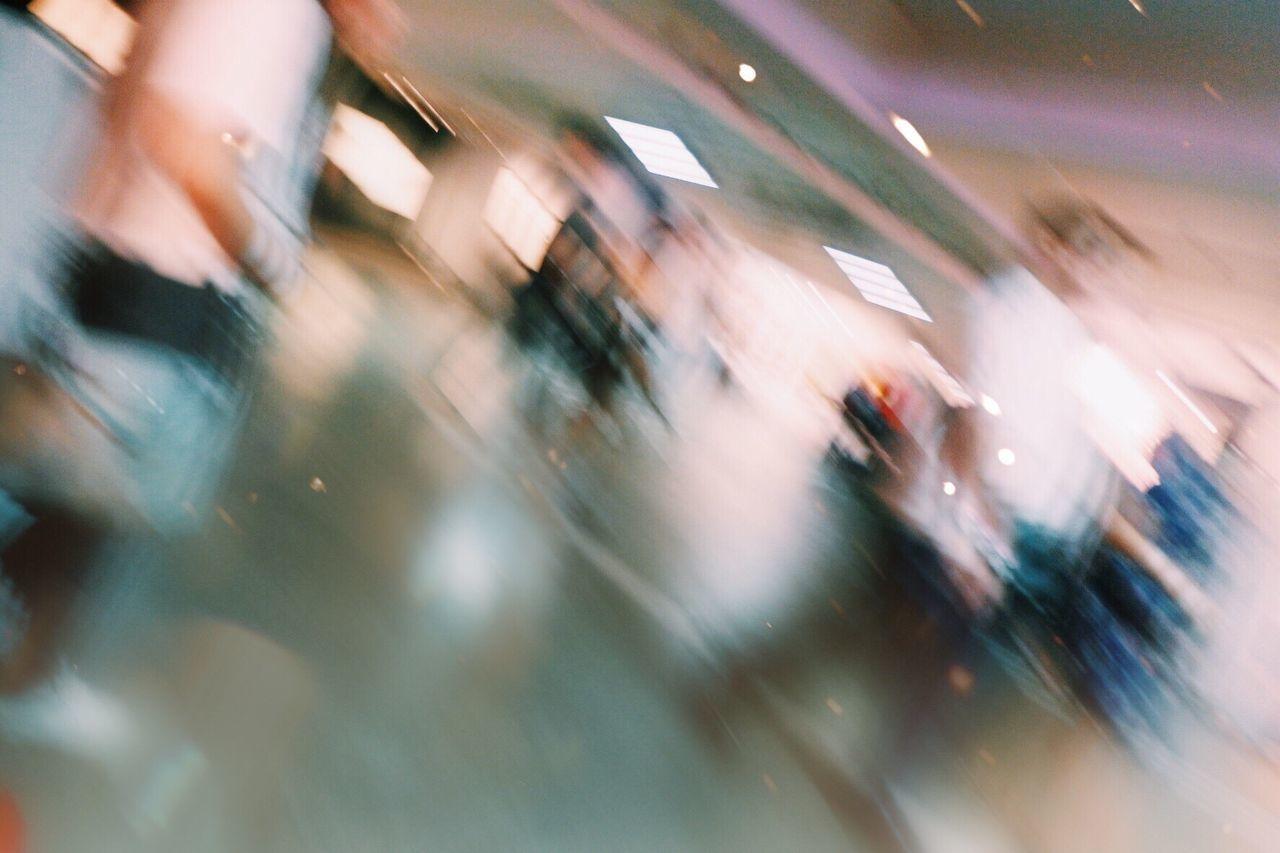 Walking indoors Blurred Motion Motion Defocused Indoors  People Crowd First Eyeem Photo