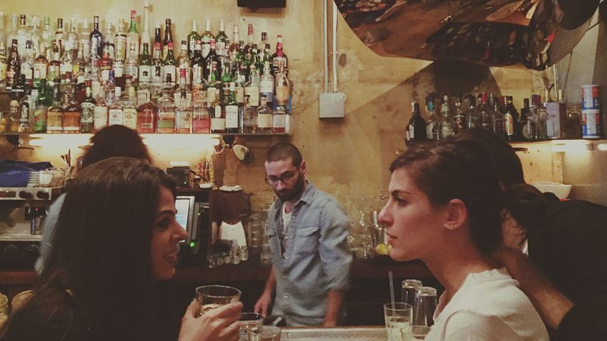About last night. People Of EyeEm Faces Of EyeEm Bottles Drinks From Where I Sit People Watching Peoplephotography