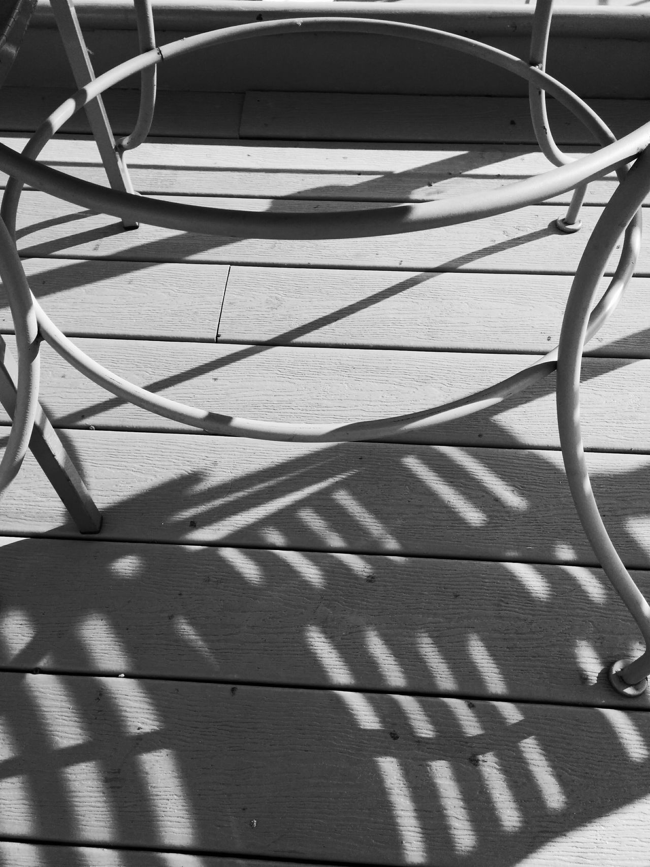 Metal Table Shadows