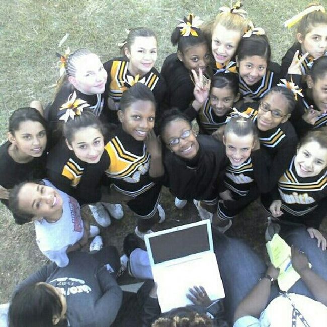 Middle School Cheer Days :) Cheerleading Check This Out #OldPicture 7th Grade 8th Grade