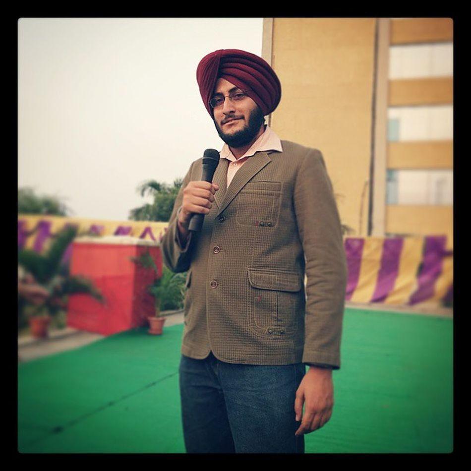 Mr Photographer Gagans_photography Hosting One Game At Diwali2014 Celebrations