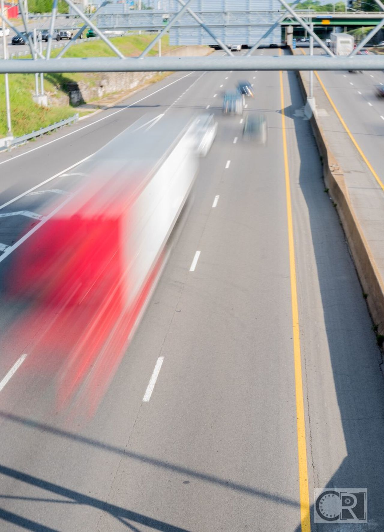 In a rush. Nashville Highwayphotography Longexposure Longexposurephotography Traffic Speed Outdoors Blurred Motion Mode Of Transport Transportation Motion Road Car Day City No People Chipriggsphotography 365project