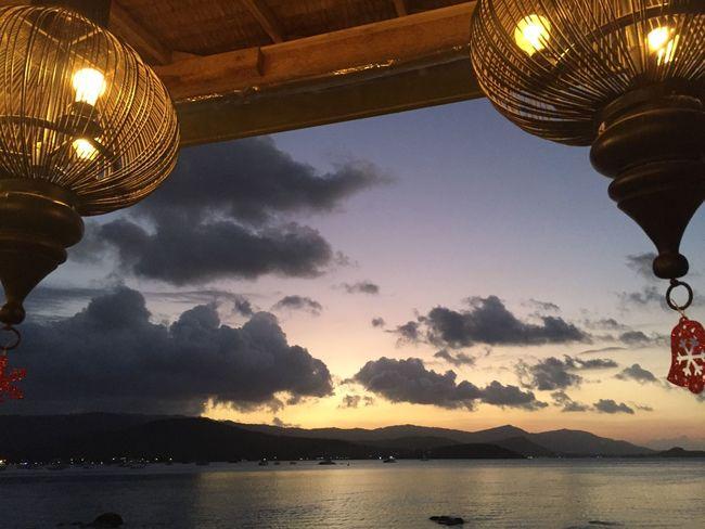 Thailand Thailandislands Kosamui Views Sky