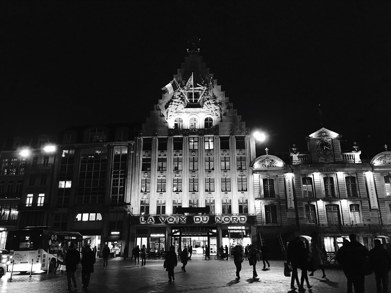 Lille Lavoixdunord Flandres  France Bnw Grandplace Square Architecture